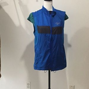 Brooks Blue Teal Vest